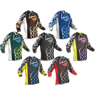 Fly Racing 2011 Youth Kinetic Motocross Jersey