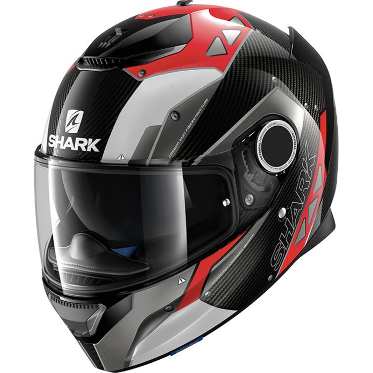 shark spartan carbon bionic motorcycle helmet new. Black Bedroom Furniture Sets. Home Design Ideas