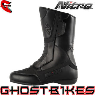 View Item Nitro NB-11 Leather Motorcycle Boots