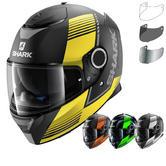 Shark Spartan Arguan Motorcycle Helmet & Visor
