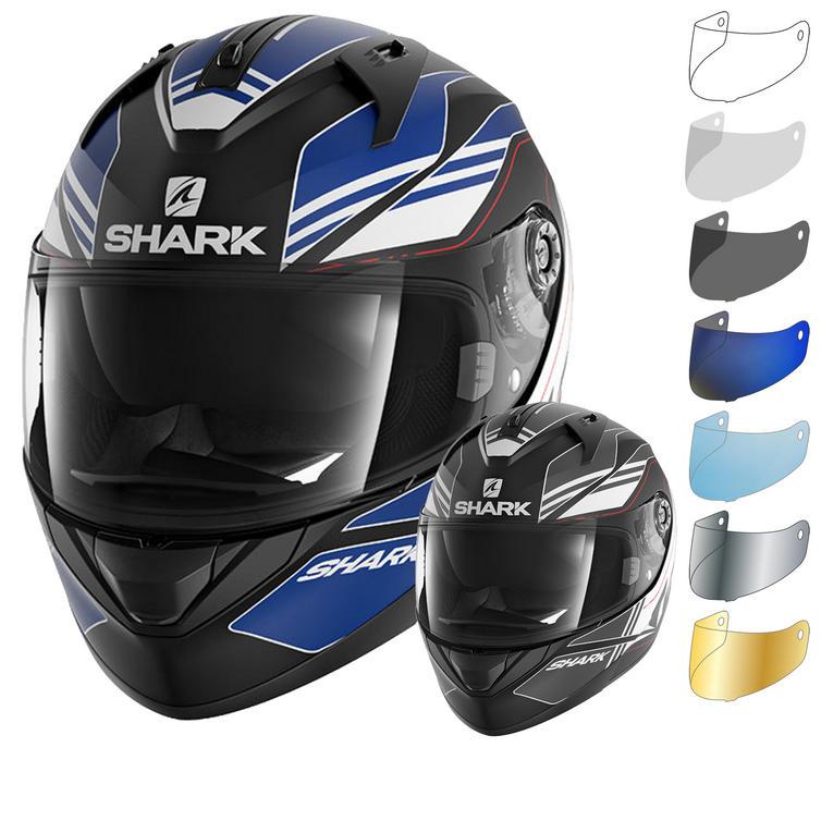 Shark Ridill Tika Mat Motorcycle Helmet & Visor