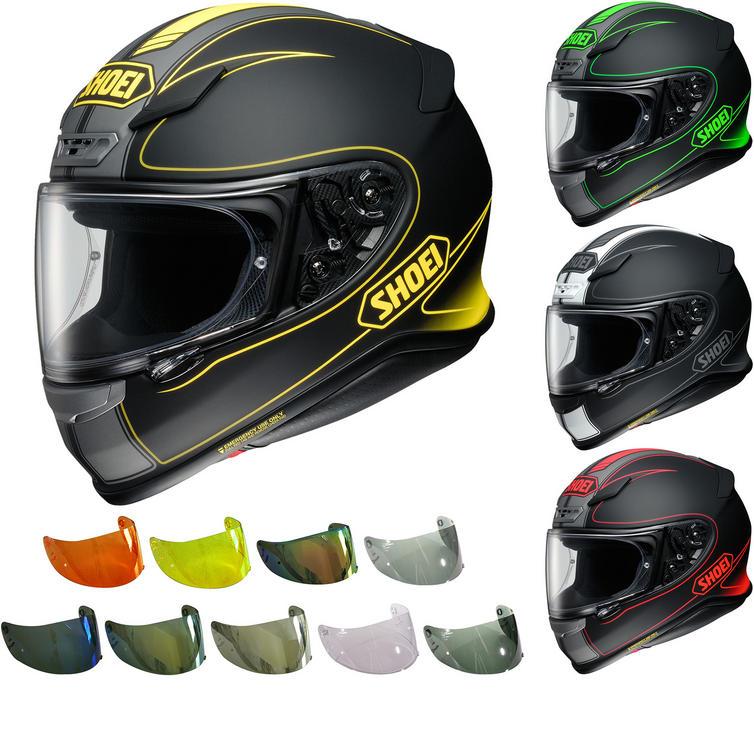 shoei nxr flagger motorcycle helmet visor new arrivals. Black Bedroom Furniture Sets. Home Design Ideas