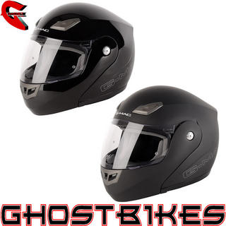 View Item G-Mac Axis Flip Front Motorcycle Helmet
