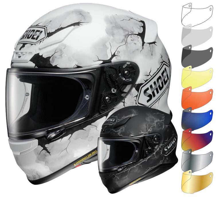 Shoei NXR Ruts Motorcycle Helmet & Visor