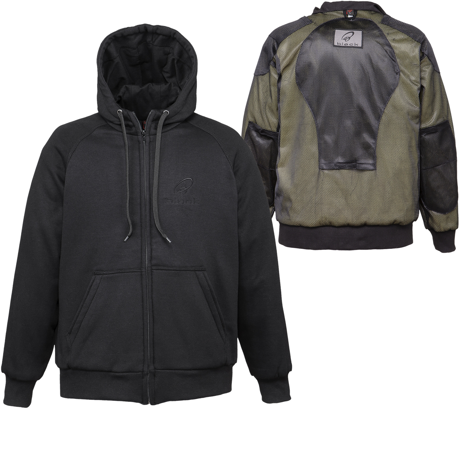 Best Motorcycle Jacket >> Black Lynx Kevlar Motorcycle Hoodie - New Arrivals - Ghostbikes.com