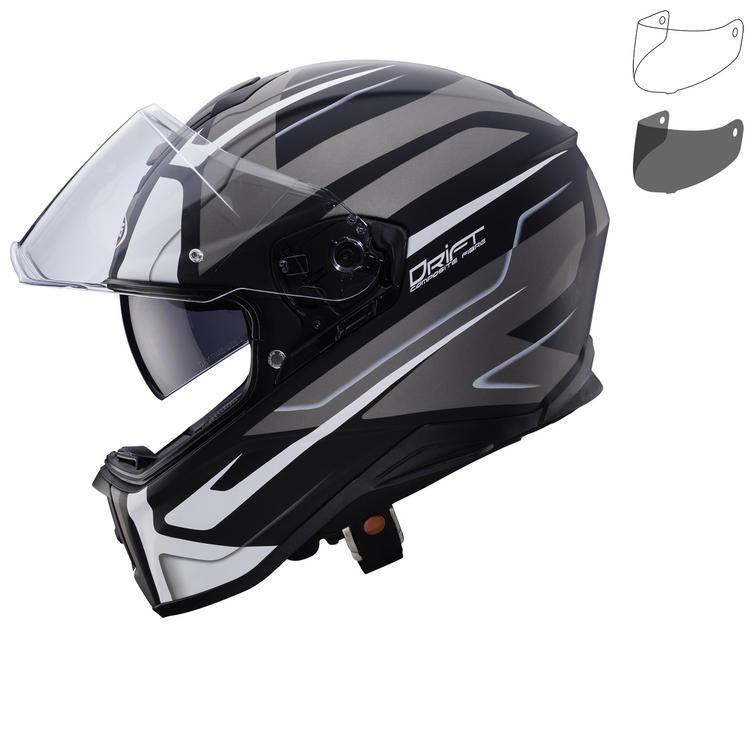 Image of Caberg Drift Shadow Motorcycle Helmet & Visor