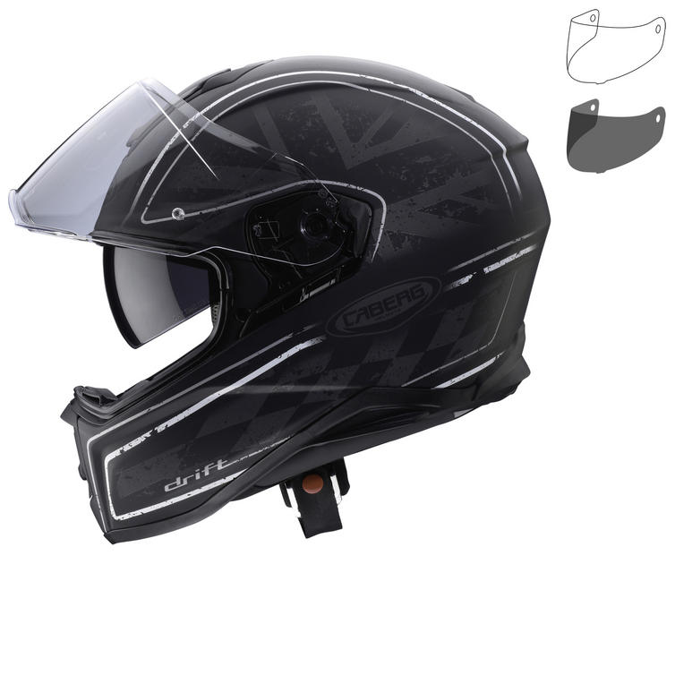 Image of Caberg Drift Armour Motorcycle Helmet & Visor