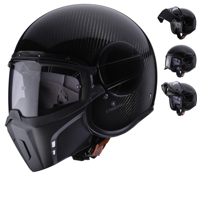 Caberg Ghost Carbon Open Face Motorcycle Helmet