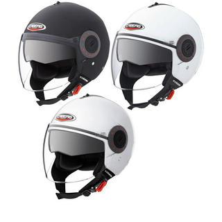 Caberg Riviera V3+ Plain Demi Jet Motorcycle Helmet