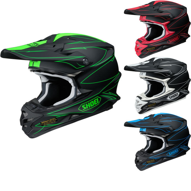 Shoei VFX-W Hectic Motocross Helmet