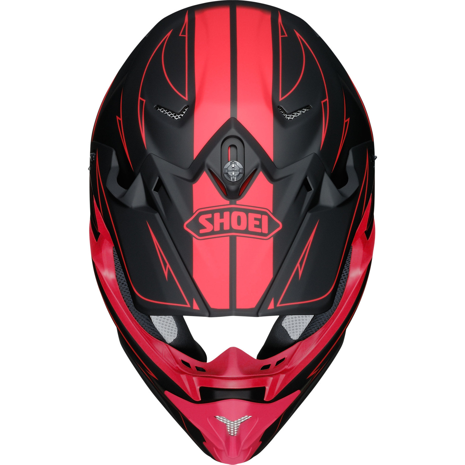 shoei vfx w hectic motocross mx helmet dirt adventure enduro off road snell acu ebay. Black Bedroom Furniture Sets. Home Design Ideas