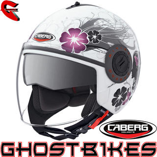 View Item Caberg Riviera V2+ Diva Demi Jet Motorcycle Helmet