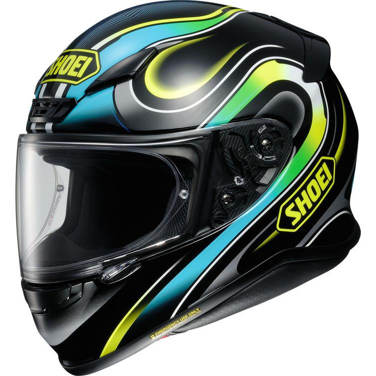 Shoei NXR Intense Motorcycle Helmet & Visor