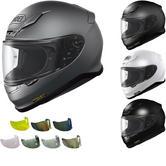 Shoei NXR Plain Motorcycle Helmet & Visor