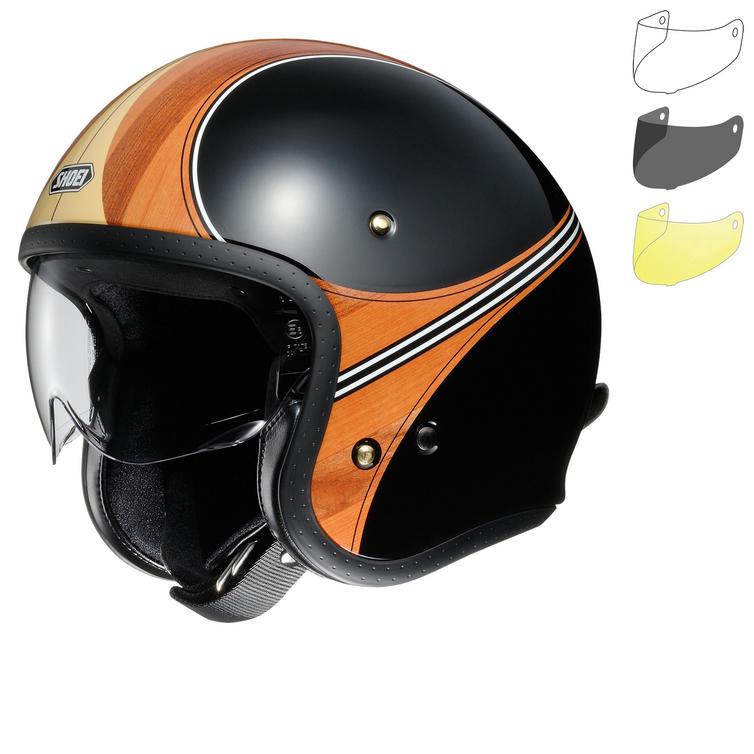 Shoei J.O Waimea Open Face Motorcycle Helmet & Visor