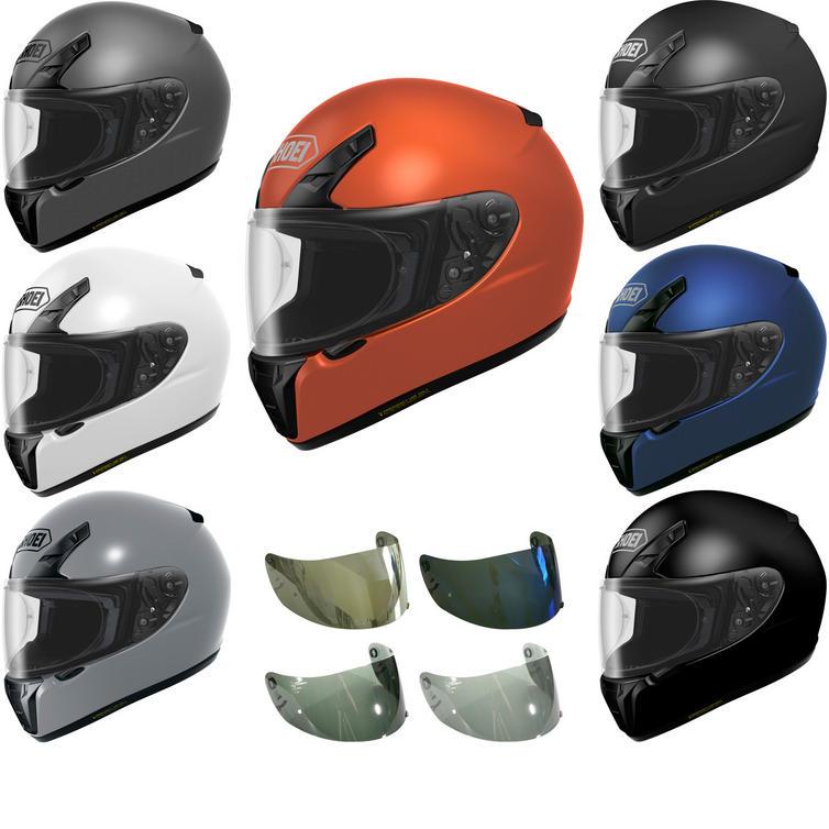 Shoei RYD Plain Motorcycle Helmet & Visor