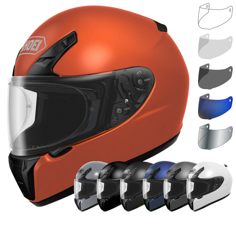 Shoei RYD Plain Motorcycle Helmet & Visor