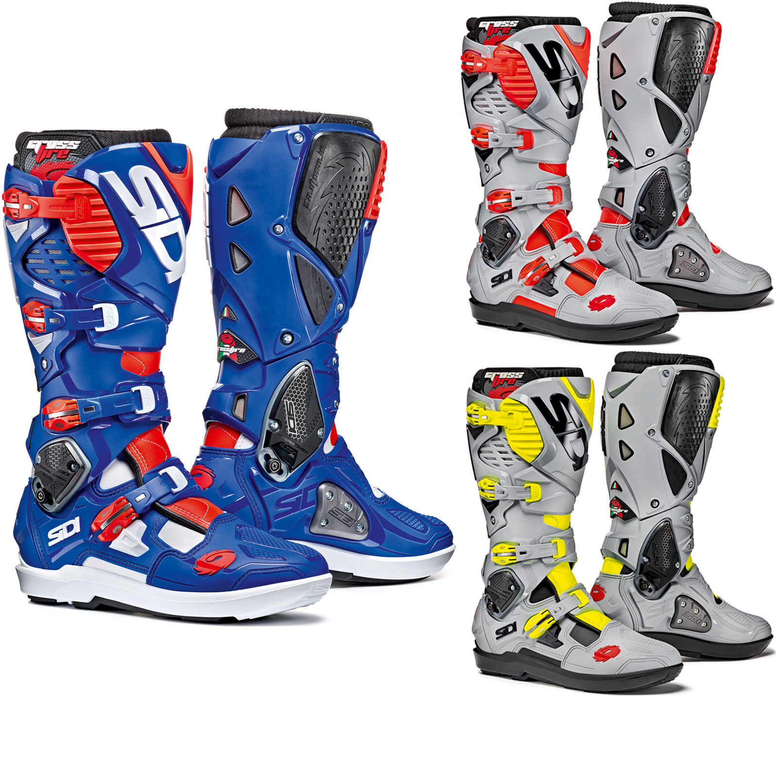sidi crossfire 3 srs motocross boots new arrivals. Black Bedroom Furniture Sets. Home Design Ideas