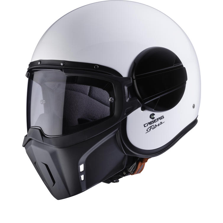 Caberg Ghost White Open Face Motorcycle Helmet