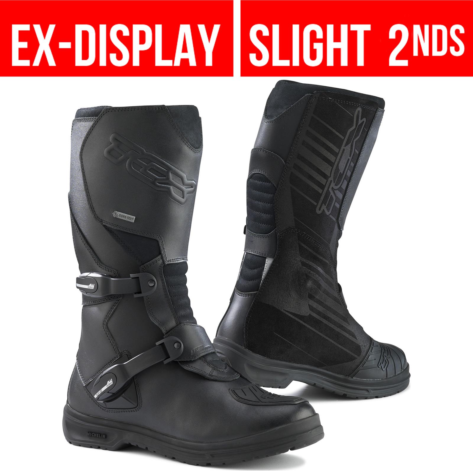 TCX Infinity 48 Black Evo Gore-Tex Motorcycle Boots ...