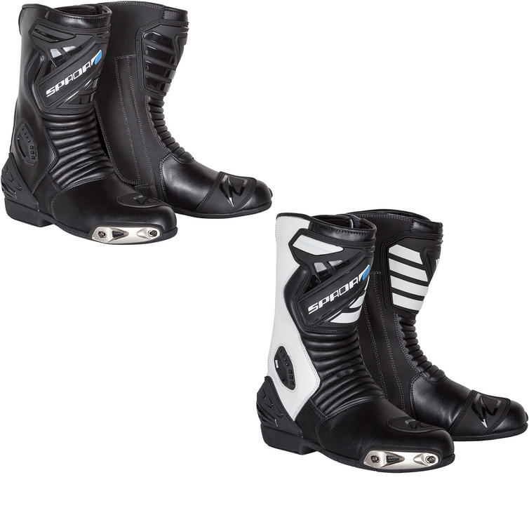 Spada Sportour Leather Motorcycle Boots