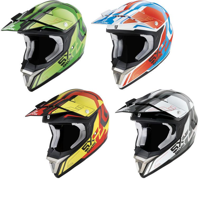 Shark SX2 Bhauw Motocross Helmet