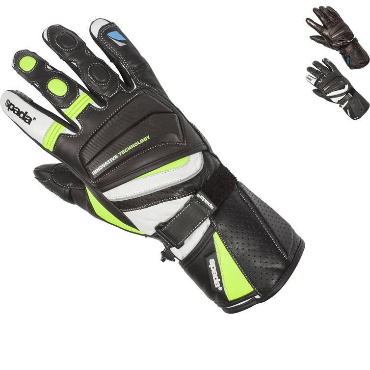 Spada Latour Summer Leather Motorcycle Gloves