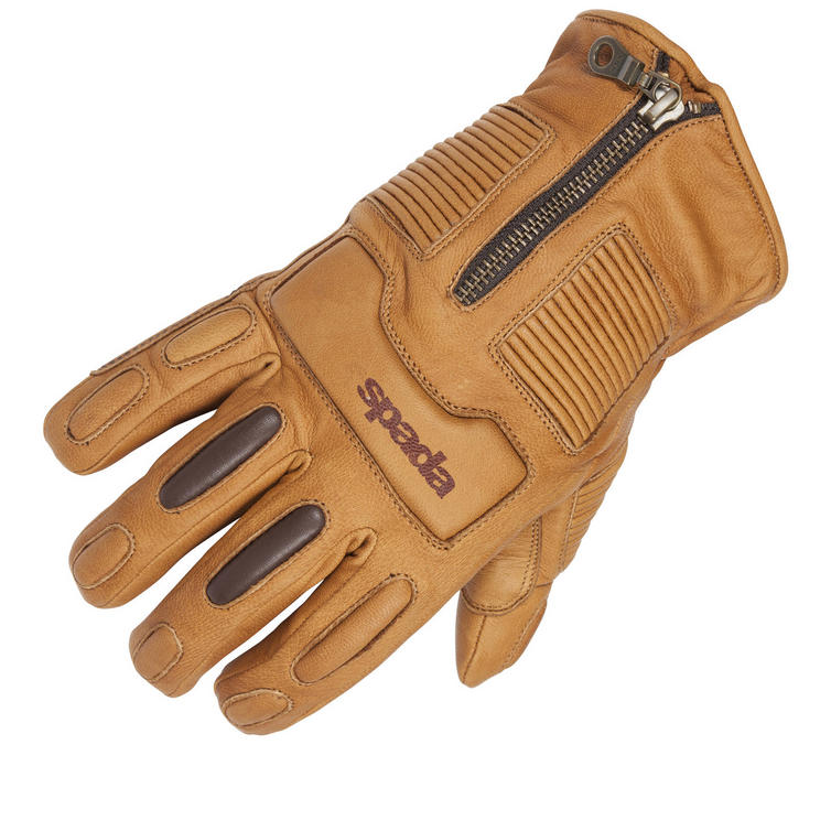 Spada Rigger Leather Motorcycle Gloves
