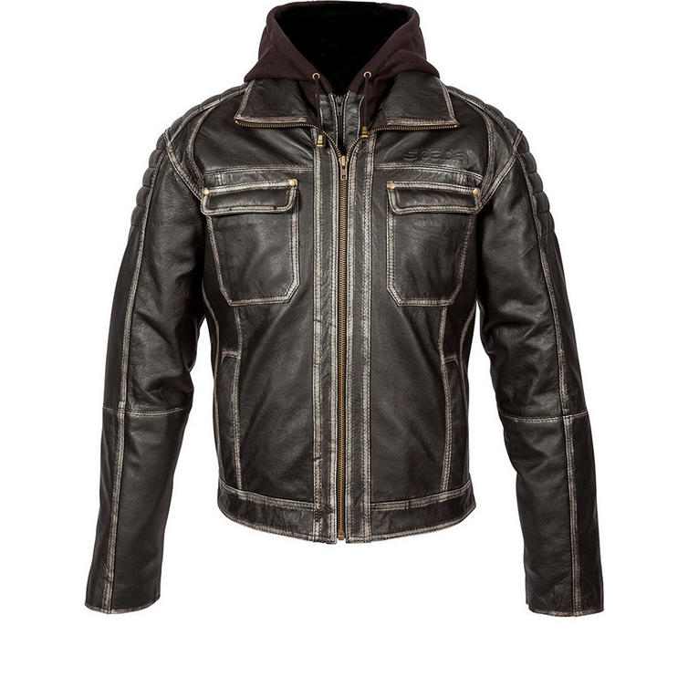 Spada Peacedog Leather Motorcycle Jacket