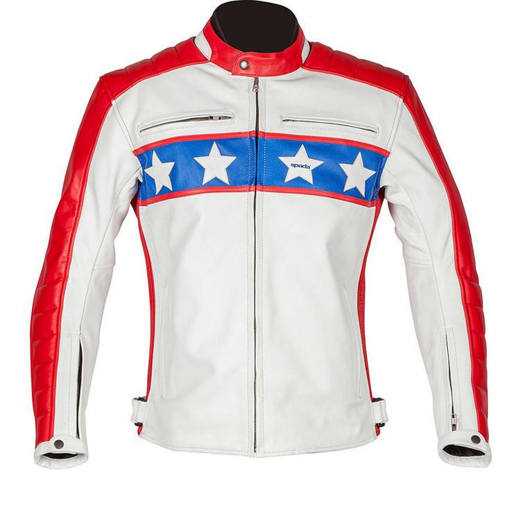 Spada Turismo 'Vil Leather Motorcycle Jacket