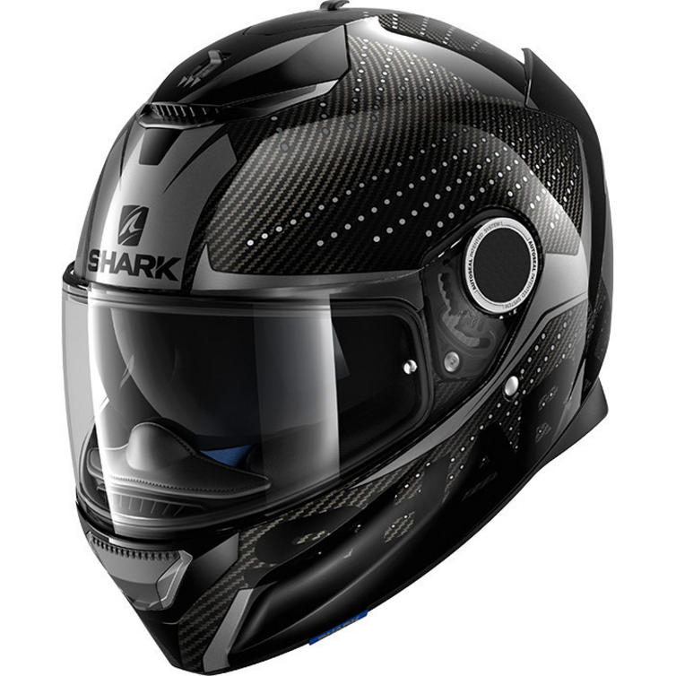 Shark Spartan Carbon Cliff Motorcycle Helmet & Visor