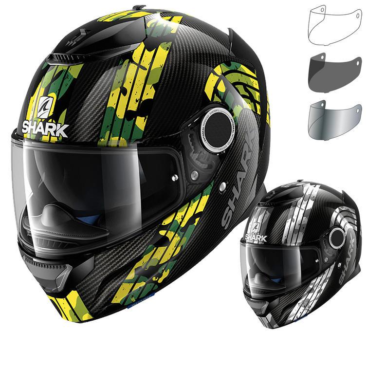 Shark Spartan Carbon Mezmair Motorcycle Helmet & Visor