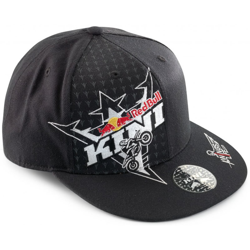 Image is loading KINI-RED-BULL-ENERGY-RACER-CROWN-MX-HAT- b4d56aa429