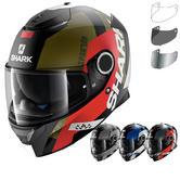Shark Spartan Apics Motorcycle Helmet & Visor
