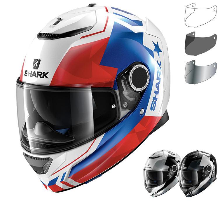 Shark Spartan Droze Motorcycle Helmet & Visor