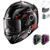 Shark Spartan Rughed Motorcycle Helmet & Visor