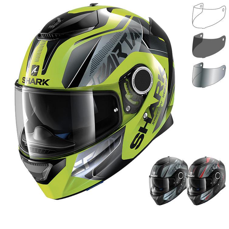 Shark Spartan Karken Motorcycle Helmet & Visor