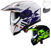 Caberg X-Trace Lux Dual Sport Helmet & Visor