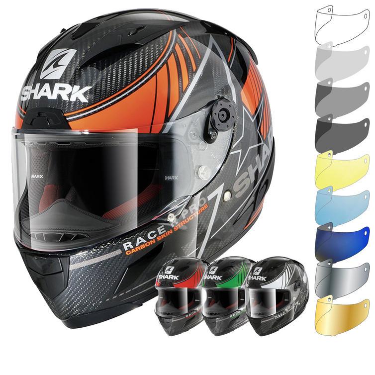 Shark Race-R Pro Carbon Kolov Motorcycle Helmet & Visor