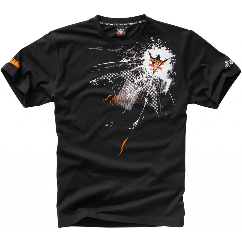 KINI RED BULL ENERGY EXPLODE CREW NECK COTTON T-SHIRT Enlarged Preview