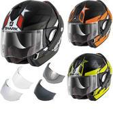 Shark Evoline S3 Strelka Flip Front Motorcycle Helmet & Visor