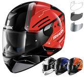 Shark Skwal Warhen Motorcycle Helmet & Visor