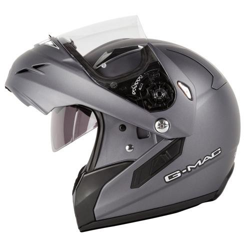 GMAC FUTURA DVS FLIP UP FRONT DROP DOWN INTERNAL SUNVISOR MOTORCYCLE