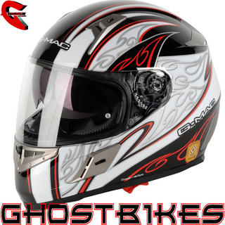 G-Mac Blaze Full Face Motorcycle Helmet