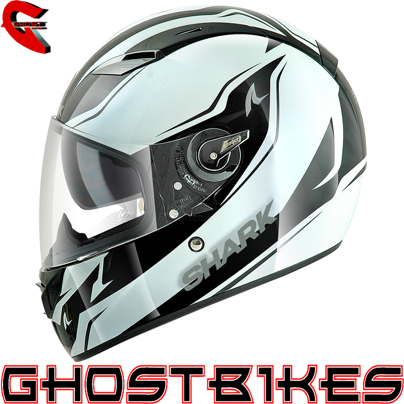 shark vision r reveal motorbike full face acu gold motorcycle crash helmet ebay. Black Bedroom Furniture Sets. Home Design Ideas