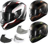 Shark D-Skwal Rakken Motorcycle Helmet & Visor