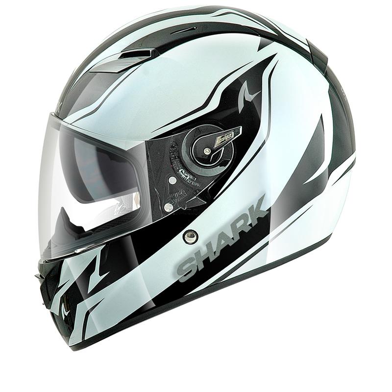 shark vision r reveal motorbike full face acu gold motorcycle crash helmet ebay. Black Bedroom Furniture Sets. Home Design Ideas