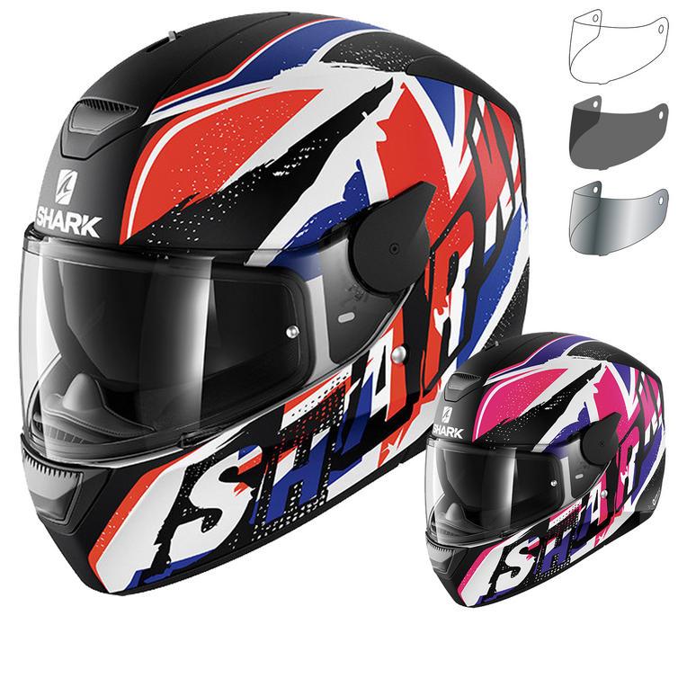 Shark D-Skwal Ujack Motorcycle Helmet & Visor