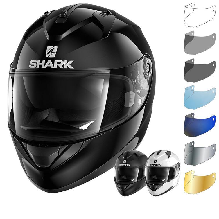 Shark Ridill Blank Motorcycle Helmet & Visor