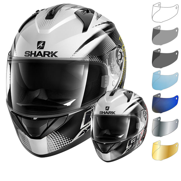 Shark Ridill Finks Motorcycle Helmet & Visor